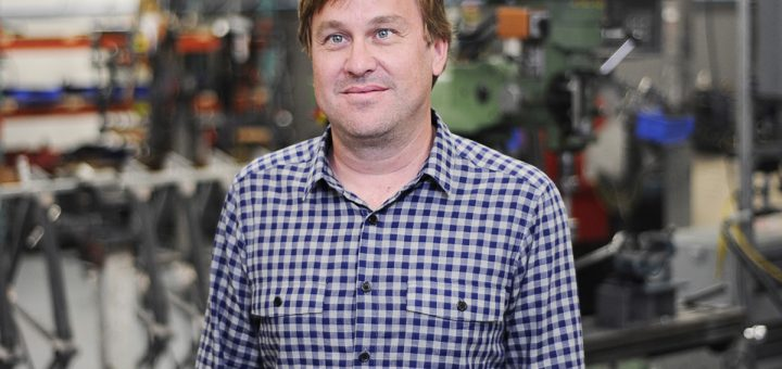 HIA Velo founder Tony Karklins