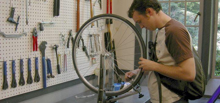 diy bike truing stand